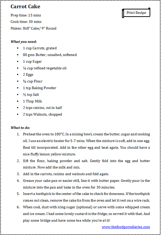 Carrot Cake Recipe_snap