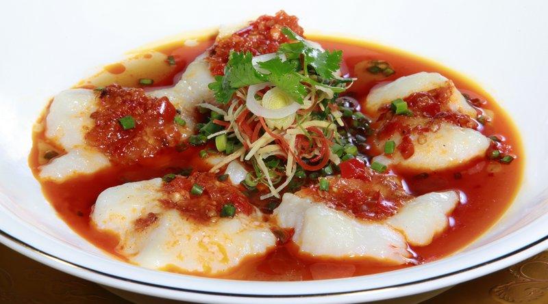 Hunan style steamed fish (3)