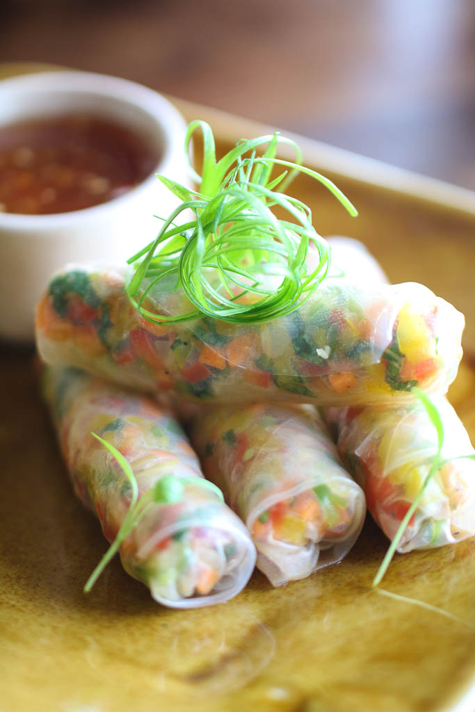 Rice Paper Rolls (1) - The Fatty Bao - Photo Courtesy Kunal Chandra