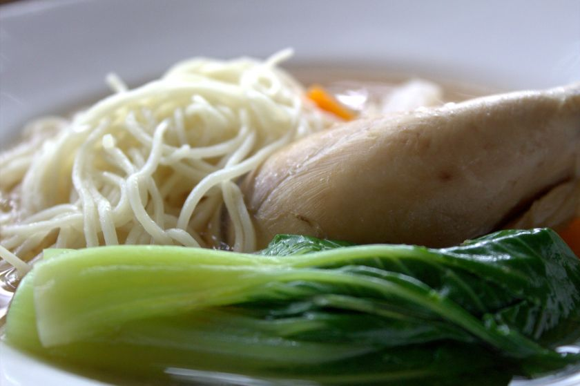 chicken drumsticl with noodles soup (2)