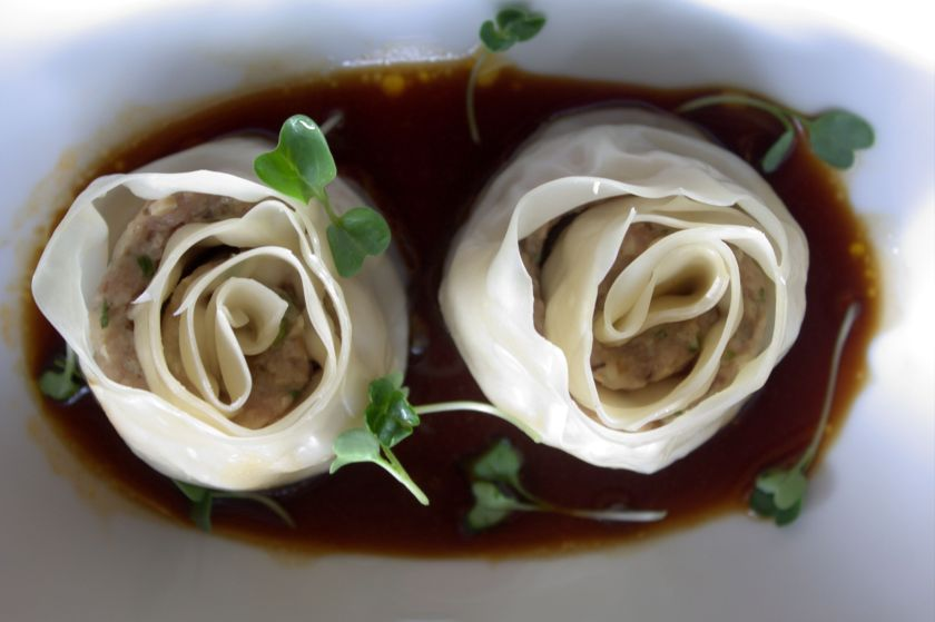 Pork double Layer dumplings