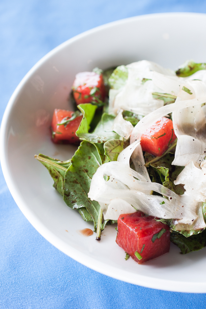 Watermelon Salad Radish
